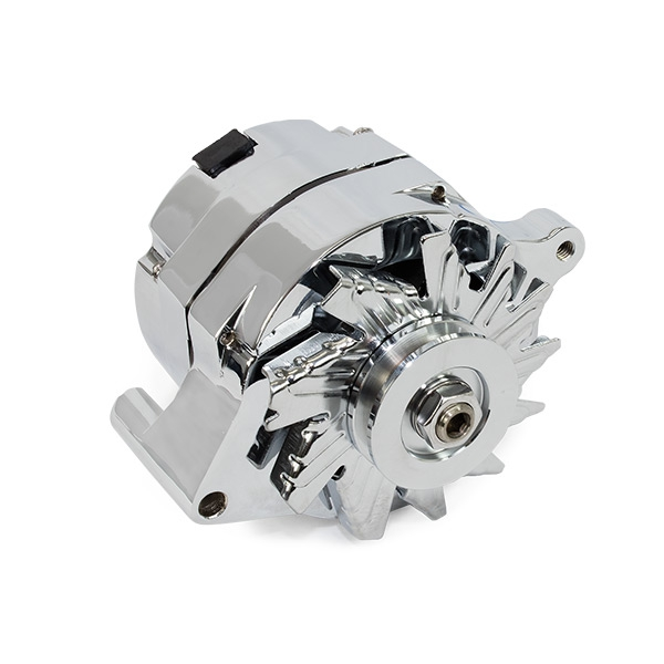 Ford 1G Style 110amp 1 Wire Alternator - Complete Auto
