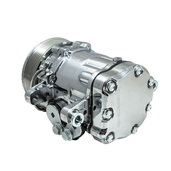 Compressor Gas Cap : A c compressor sanden sd type aluminum natural clutch