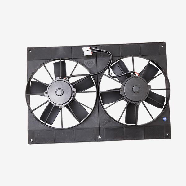 11 Quot Dual Radiator Fan S Blade Complete Auto