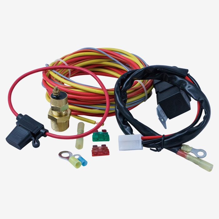 Pro Series Electric Fan Relay Kit 165185 Degree F Switch Relay 40