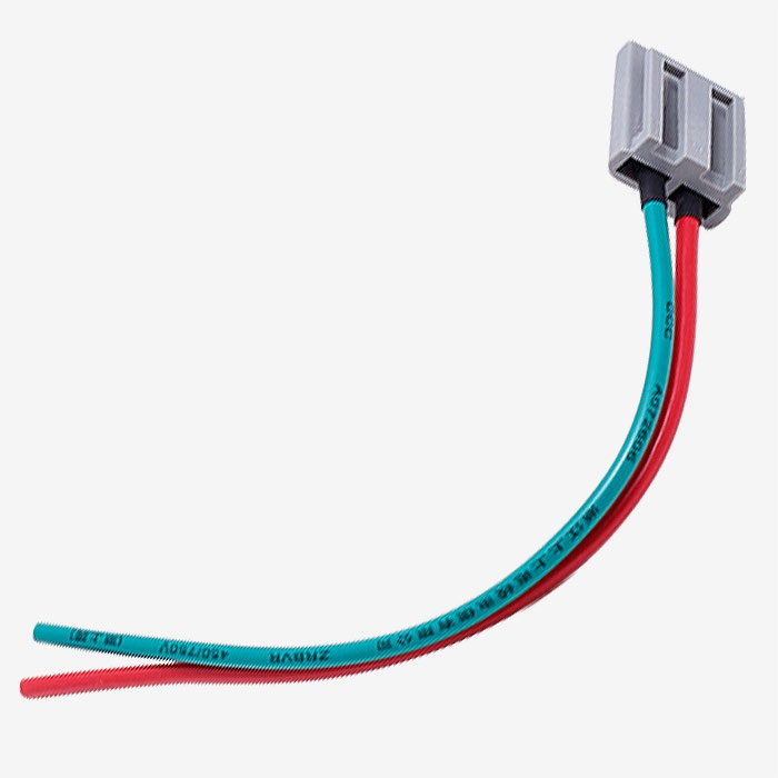jm6933 b piece power & tachometer wiring harness for hei distributors hei distributor wiring harness at gsmportal.co